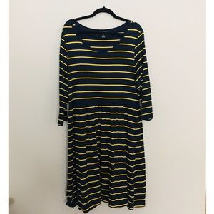 Forever 21 Plus Size 3x Striped Dress